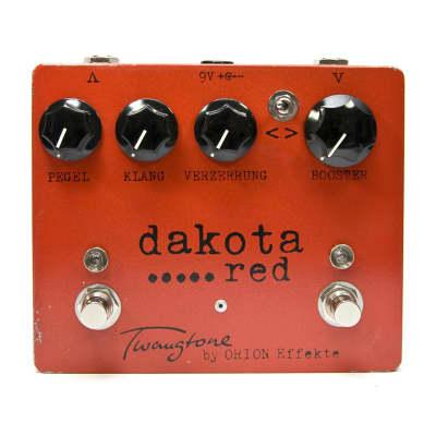 Orion Effekte Twangtone Dakota Red Classic * overdrive and booster * Tweedsound