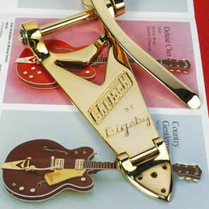 Genuine Gretsch Bigsby B6G Gold Vibrato Tailpiece for Arch Tops New 0060143100