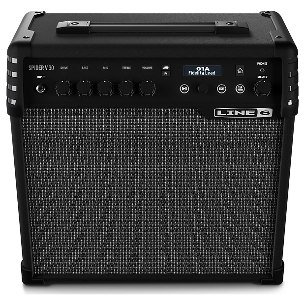 line 6 spider v 30 electric guitar modeling combo amplifier reverb. Black Bedroom Furniture Sets. Home Design Ideas