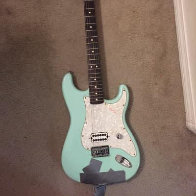 Fender Tom Delonge Artist Series Stratocaster 2001-2003 Sea Foam Green for sale