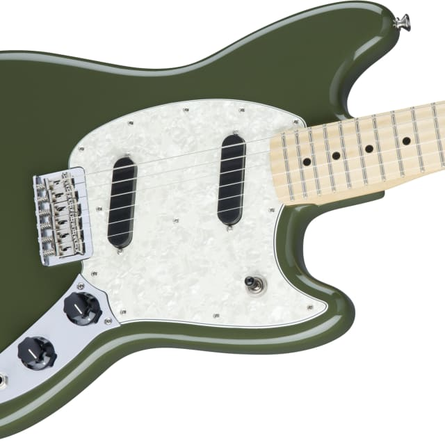 Fender Mustang Olive Green image