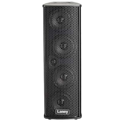Laney AH 4X4 Audiohub PA Speaker System 35W 4x4 6-Ch Battery Powered Digital FX