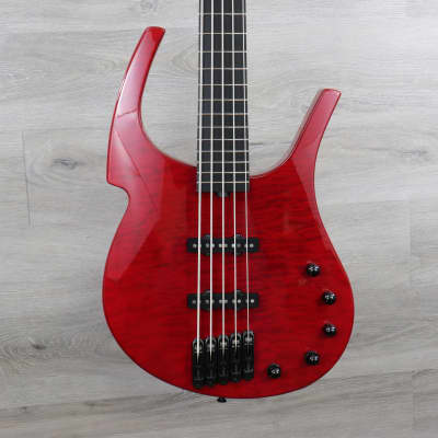Parker 5 String Fly Bass Red for sale