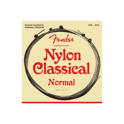 NEW Fender Classical/Nylon Strings - Ball End - .028-.043