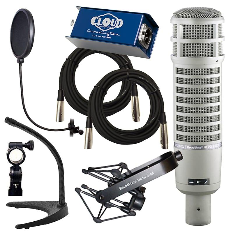 electro voice re20 large diaphragm dynamic microphone reverb. Black Bedroom Furniture Sets. Home Design Ideas