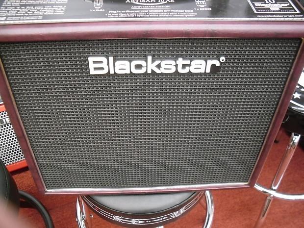 blackstar artisan 10 anniversary model oxblood electric reverb. Black Bedroom Furniture Sets. Home Design Ideas