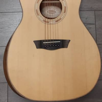 Washburn Comfort G10SE Acoustic-electric Guitar with Spruce Top - Natural for sale