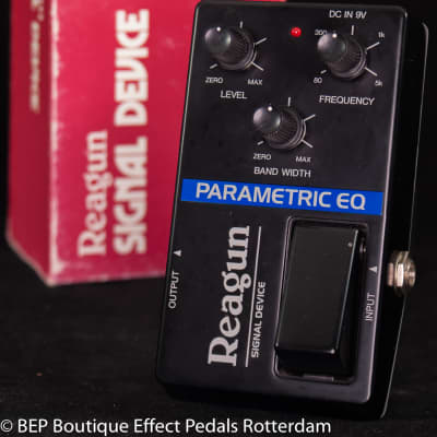 Reagun Parametric EQ early 80's