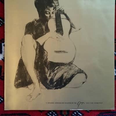 Greco Acoustic Guitar Catalog 1970