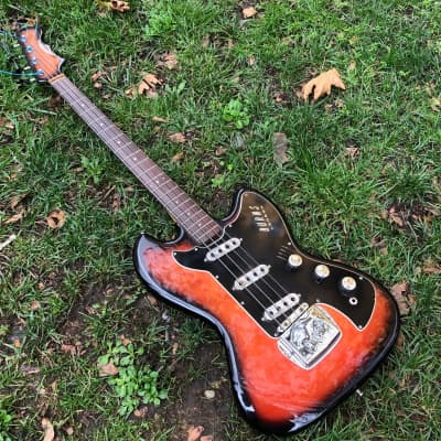 Burns  Vista Sonic Bass  1963  Sunburst for sale