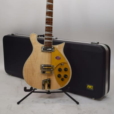 Rickenback 660 Mapleglo Charactered Maple Cutaway Electric Guitar for sale