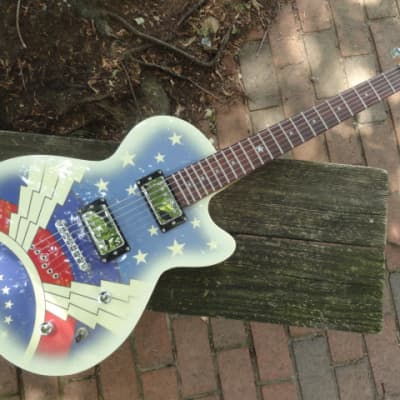 Daisy Rock Rock Candy Graphic Super Girl guitar for sale