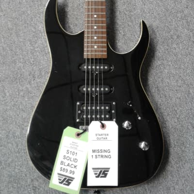 S101 Black Electric Guitar for sale