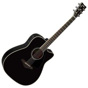 Yamaha FGX830C Acoustic Guitar Black