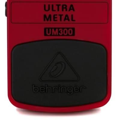 Behringer UM300 Ultra Metal Distortion Pedal