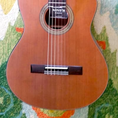 Giannini Classical  Acoustic / Electric Cut-a-way for sale