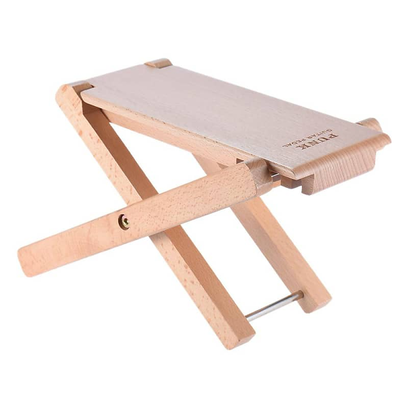 Remarkable Foldable Wooden Guitar Foot Rest Stool Pedal 4 Level Adjustable Height Beech Wood Material Evergreenethics Interior Chair Design Evergreenethicsorg