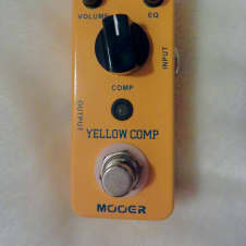Mooer Yellow Comp Compressor