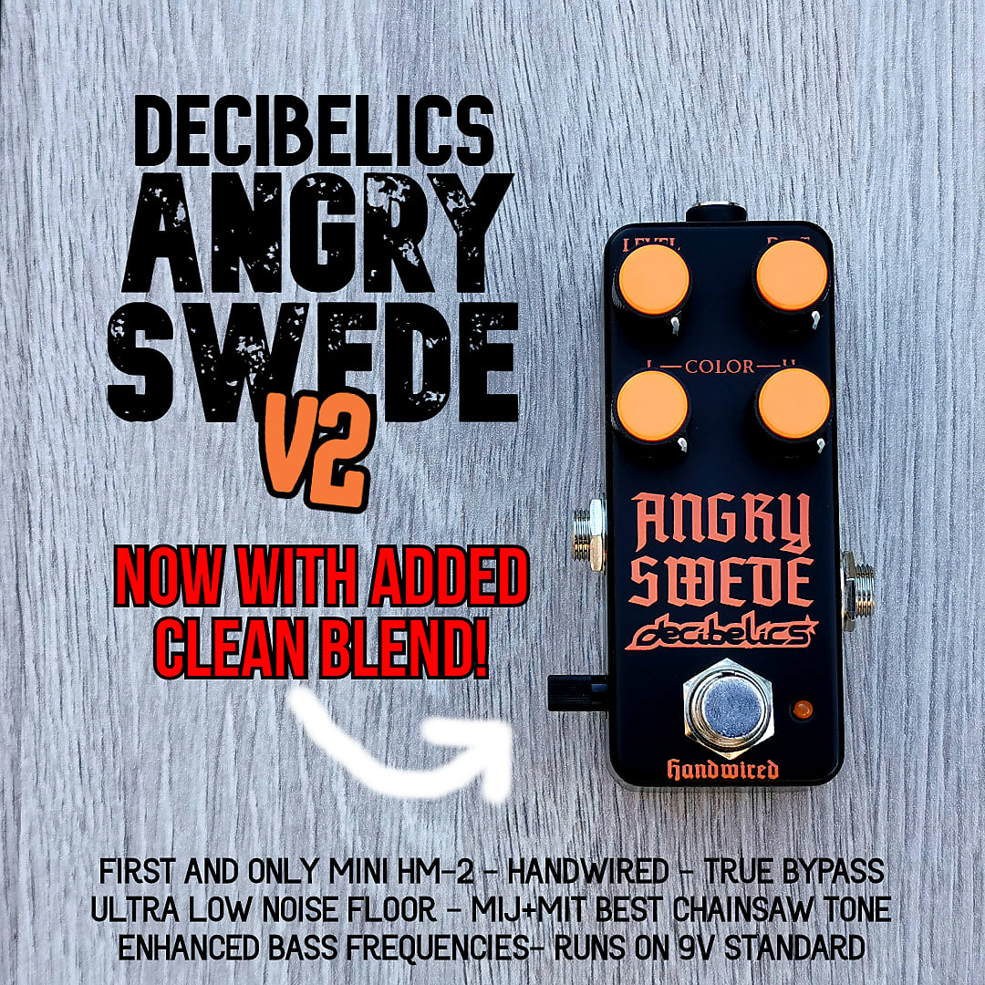 Decibelics Angry Swede | The Mini HM2 clone