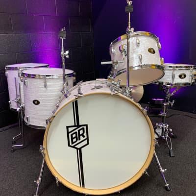 Buddy Rich Drum Company Buddy Rich Signature 5 Piece Kit White Marine Pearl