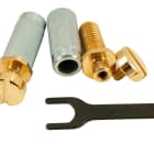 TonePros LOCKING STEEL STUDS US THREAD GOLD VGS1/GLD fits Gibson image