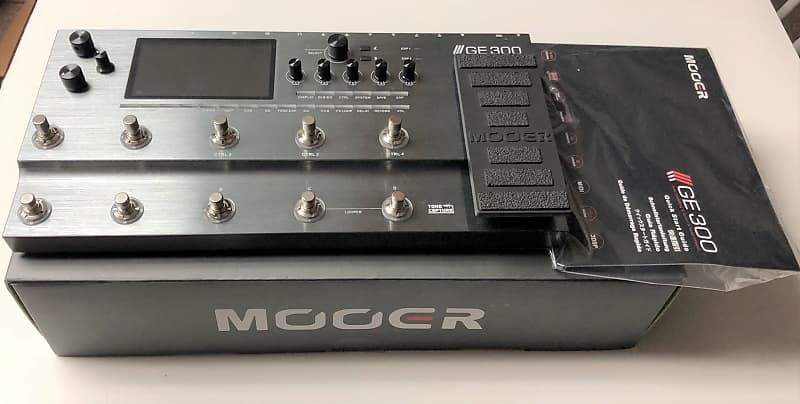 Mooer GE 300 GE300 Multi-Effect Effects Processor for Electric Guitar