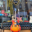 Ibanez ASV73 Artcore Vintage Semi-Hollow Electric Guitar Vintage Amber Burst Low Gloss