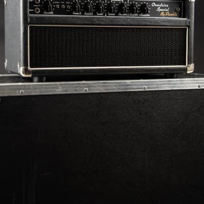 Dumble Overdrive Special Amplifier Head and 1980s Dumbleator with Flight Case