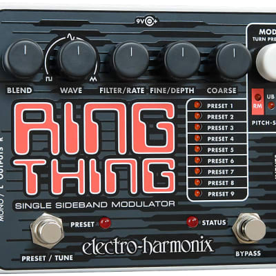 EHX Electro-Harmonix Ring Thing Single Sideband Modulator Guitar Effects Pedal