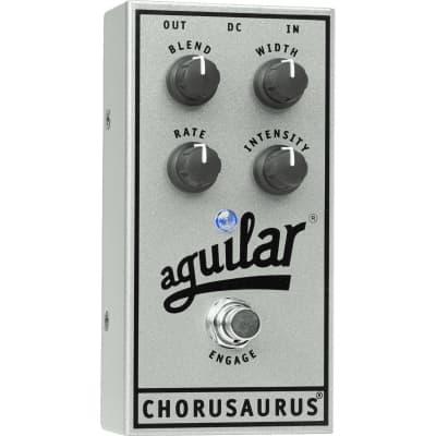 Aguilar Chorusaurus (Silver 25th Anniversary Limited Edition) Analogue Bass Chorus for sale