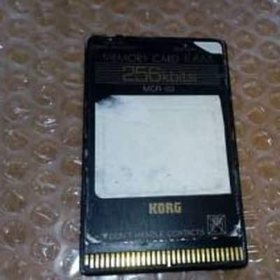 Korg Memory Card MCR-03 for KORG M1