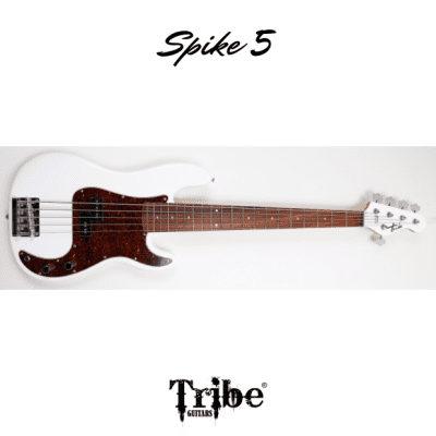 "Tribe Spike 5 - Olympic White - 35"" scale"