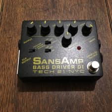 Sansamp Bass Driver D.I. Fress Shipping