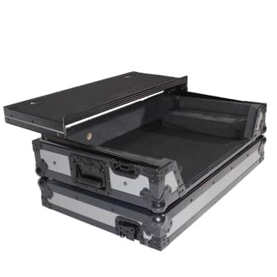 PROX ATA Road Case for Pioneer DDJ-SX2 DDJ-SX3 DDJ-RX Digital Controller  - Grey on Black