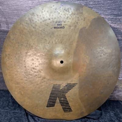 Zildjian 20″ K Custom Dry Ride