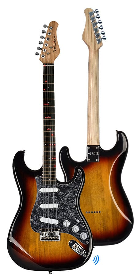 Fg 621 Wireless Electric Guitar Sunburst Right Handed