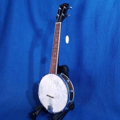 Mims Ukes:  Gold Tone Concert Banjolele BU-1 Maple Banjo Ukulele Uke with Pickup & Bag