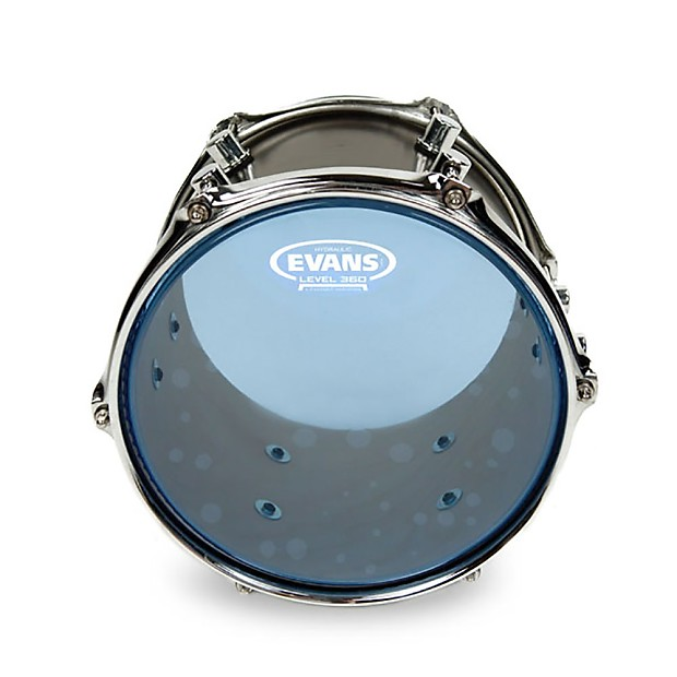 evans drumheads 360 tt13hb hydraulic blue snare tom timbale reverb. Black Bedroom Furniture Sets. Home Design Ideas