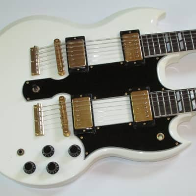 1990 Gibson EDS-1275  Alpine White w/OHSC EX/NM for sale
