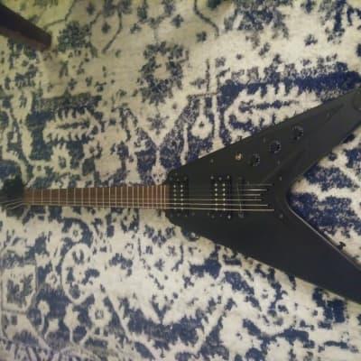 Epiphone Flying V Goth Matte Black 2002 for sale