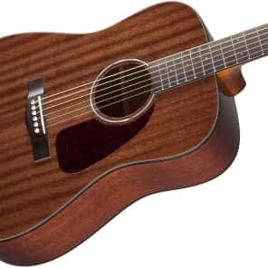 Fender CD-140S All-Mahogany Dreadnought Natural