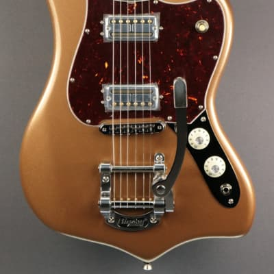 DEMO Fender Parallel Universe II Maverick Dorado - Firemist Gold (952) for sale