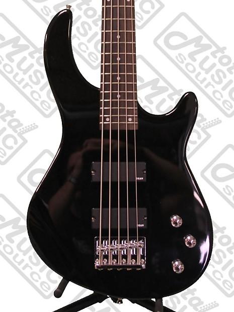 dean edge 1 5 string bass classic black e1 5 cbk reverb. Black Bedroom Furniture Sets. Home Design Ideas