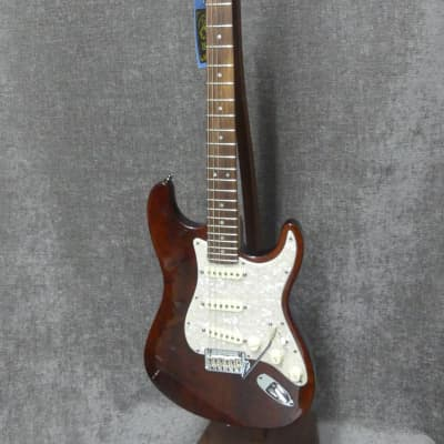 Fender American Design Stratocaster Rosewood Brown Stain w/ Fender Deluxe Case (Rare) for sale