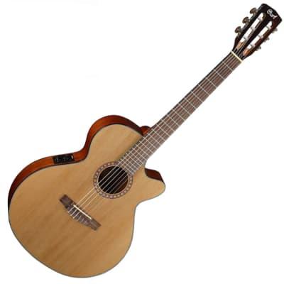 Cort CEC5 Nylon Classical Guitar Natural 45mm 1 3/4