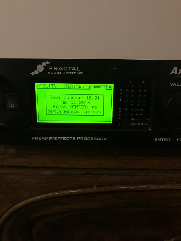 Download Driver: Fractal Audio Axe-Fx II Mark II Preamplifier Quantum