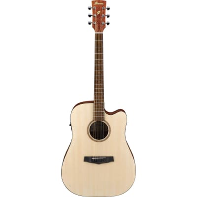 Ibanez PF10CE Open Pore Natural electro-acoustic guitar for sale