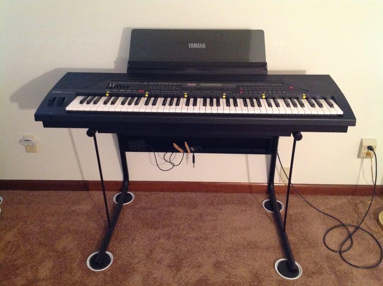 Yamaha keyboard psr 6700 gear depot reverb for Yamaha psr stand