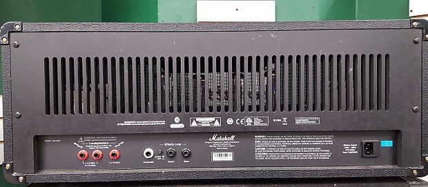 marshall ma100h guitar amp head w foot switch black reverb. Black Bedroom Furniture Sets. Home Design Ideas