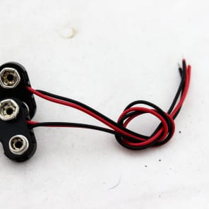 (2) Guyatone 9v battery connectors